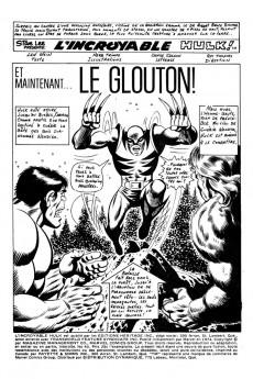 Extrait de L'incroyable Hulk (Éditions Héritage) -40- Et maintenant... le Glouton!
