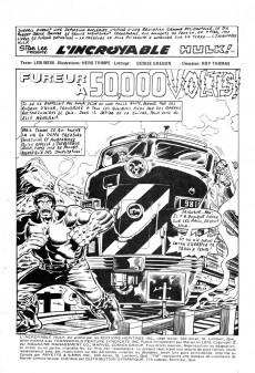Extrait de L'incroyable Hulk (Éditions Héritage) -42- Fureur à 50,000 volts!