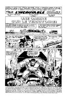 Extrait de L'incroyable Hulk (Éditions Héritage) -43- Une ombre sur le territoire!