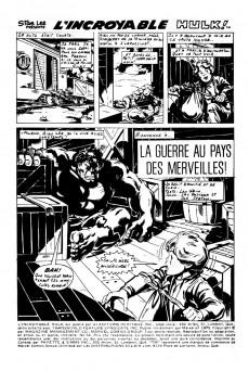 Extrait de L'incroyable Hulk (Éditions Héritage) -54- La guerre au pays des merveilles!