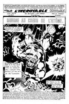 Extrait de L'incroyable Hulk (Éditions Héritage) -61- Ravage au cœur de l'atome