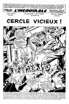 Extrait de L'incroyable Hulk (Éditions Héritage) -63- Cercle vicieux!