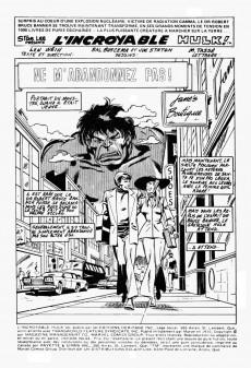 Extrait de L'incroyable Hulk (Éditions Héritage) -64- Ne m'abandonnez pas!