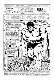 Extrait de L'incroyable Hulk (Éditions Héritage) -67- Un monstre parmi nous!