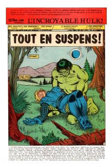 Extrait de L'incroyable Hulk (Éditions Héritage) -146147- Tout en suspens!