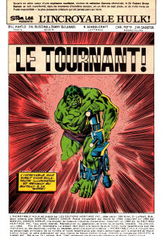 Extrait de L'incroyable Hulk (Éditions Héritage) -154155- Le tournant!