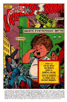 Extrait de L'incroyable Hulk (Éditions Héritage) -160- Jours de rage (2/2)