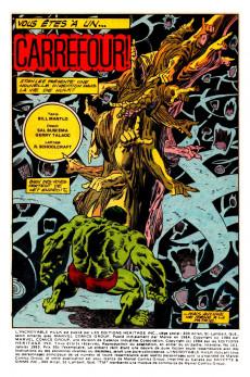 Extrait de L'incroyable Hulk (Éditions Héritage) -161- Vous êtes à un carrefour!