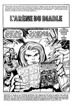 Extrait de Kamandi (Éditions Héritage) -78- L'arène du diable