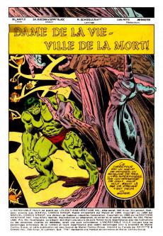 Extrait de L'incroyable Hulk (Éditions Héritage) -162- Dame de la vie - Ville de la mort!