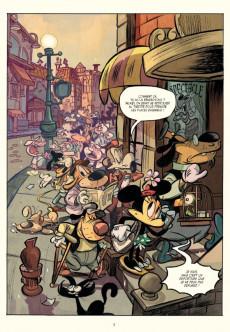 Extrait de Mickey (collection Disney / Glénat) -8- Mickey à travers les siècles