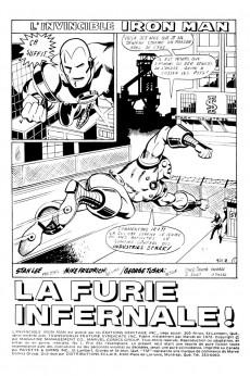 Extrait de L'invincible Iron Man (Éditions Héritage) -1- La furie infernale!
