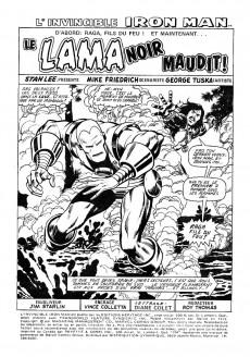 Extrait de L'invincible Iron Man (Éditions Héritage) -4- Le Lama Noir maudit!