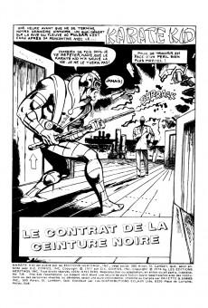 Extrait de Karaté Kid (Éditions Héritage) -78- Le contrat de la ceinture noire