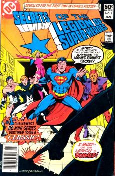 Extrait de La légion des super-héros (Éditions Héritage) -1- Le passé dans un sombre miroir
