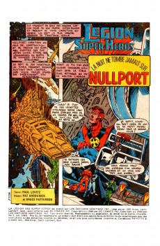Extrait de La légion des super-héros (Éditions Héritage) -3- La nuit ne tombe jamais sur Nullport