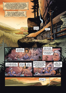Extrait de Les naufragés d'Ythaq -15- Imperator Express - La Caravane de l'étrange