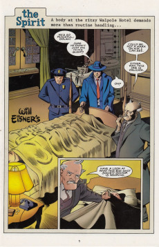 Extrait de Spirit: The New adventures (1998) -5- The Spirit: The New Adventures #5