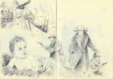 Extrait de Black Hills 1890 - Storyboard - Carnet 1