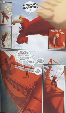 Extrait de Street Fighter II (Urban Comics) -2- Avant la tempête