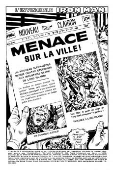 Extrait de L'invincible Iron Man (Éditions Héritage) -7- Menace sur la ville!
