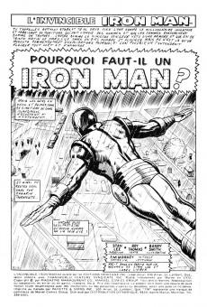 Extrait de L'invincible Iron Man (Éditions Héritage) -8- Pourquoi faut-il un Iron Man?