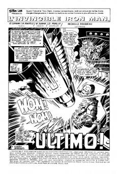 Extrait de L'invincible Iron Man (Éditions Héritage) -4950- Ultimo!