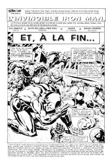 Extrait de L'invincible Iron Man (Éditions Héritage) -6162- Et, à la fin...
