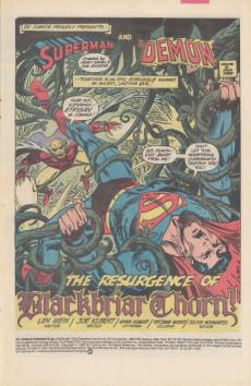 Extrait de DC Comics Presents (1978) -66- The Resurgence of Blackbriar Thorn!