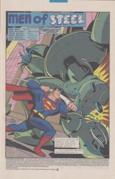 Extrait de Superman Adventures (1996) -1- Man of Steel