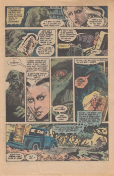 Extrait de Swamp Thing (1982) -17- ...And Things That Go Bump in the Night