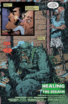 Extrait de Swamp Thing Vol.4 (DC comics - 2004) -16- He Finds a Smile Filled with Innocence and It Terrifies Him