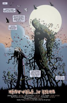 Extrait de Swamp Thing Vol.4 (DC comics - 2004) -25- (sans titre)