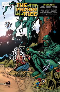 Extrait de Swamp Thing Vol.4 (DC comics - 2004) -29- Farewell to... Swamp Thing