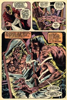 Extrait de Swamp Thing Vol.1 (DC comics - 1972) -3- The Patchwork Man