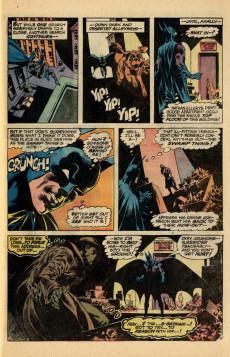 Extrait de Swamp Thing Vol.1 (DC comics - 1972) -7- Night of the Bat