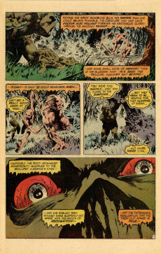 Extrait de Swamp Thing Vol.1 (DC comics - 1972) -10- The Man Who Would Not Die!