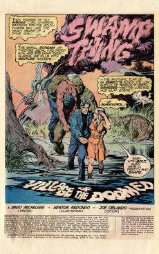 Extrait de Swamp Thing Vol.1 (DC comics - 1972) -18- Village of the Doomed