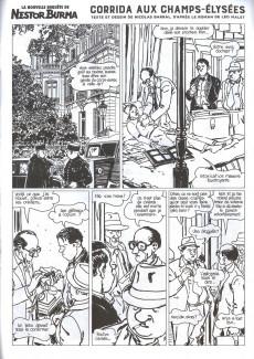 Extrait de Nestor Burma (Feuilleton) -11- Corrida aux Champs Elysées - Numéro 2