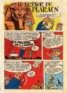 Extrait de Bonux-Boy (Les histoires de) -45670- Le trésor du pharaon