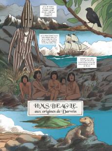 Extrait de HMS Beagle, Aux origines de Darwin