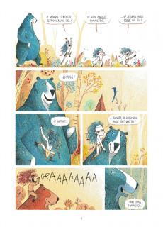 Extrait de Elma, une vie d'ours -1- Le grand voyage