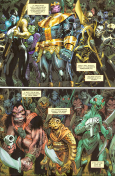 Extrait de Thanos : les frères de l'infini