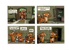 Extrait de Les sept ours nains -1- Boucle d'Or et les sept ours nains