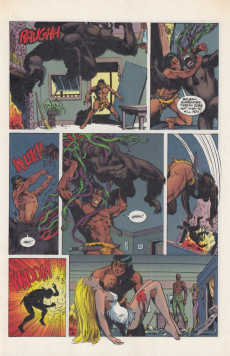 Extrait de Tarzan (Dark Horse - 1996) -1- Tarzan's Jungle Fury Part One