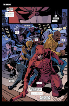 Extrait de Daredevil Vol. 1 (Marvel - 1964) -600M- Mayor Fisk Conclusion; They Also Serve