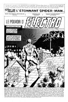 Extrait de L'Étonnant Spider-Man (Éditions Héritage) -8990- Le pouvoir d'Electro