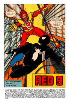 Extrait de L'Étonnant Spider-Man (Éditions Héritage) -169- Red 9