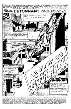 Extrait de L'Étonnant Spider-Man (Éditions Héritage) -41- Le jour du Grizzly !