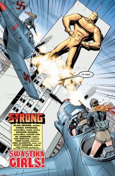 Extrait de Tom Strong (1999) -4- Swastika Girls!